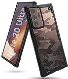 Ringke Fusion-X Diseñado para Funda Samsung Galaxy Note 20 Ultra, Carcasa Galaxy Note 20 Ultra, Prevención de Golpes PC + TPU Parachoque Funda para Galaxy Note 20 Ultra (6.9') - Camo Black