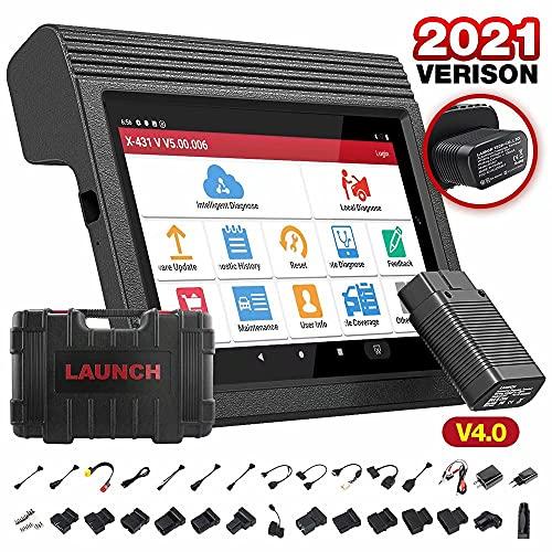 LAUNCH X431 V PRO V4.0 Bidirektionales Scan-Tool Vollsystem, 31 + Services, ECU-Codierung, Betätigungstest, AutoAuth für FCA SGW