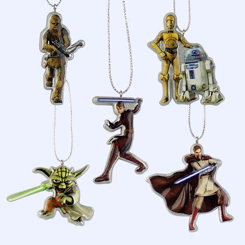 5-teiliges Christbaumschmuck-Set Star Wars