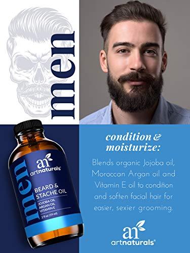 Art Naturals Pure & Natural Unscented Organic Beard Growth Oil