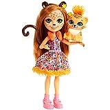 Enchantimals - Cherish Ghepardo con Animale Giocattolo per Bambini, Multicolore, FJJ20