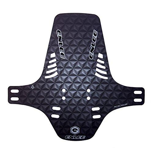 Garde-boue de pneu pour Mountain BMX Racing Touring Road Bike PE Lightest VTT avant Fourche arrière Type de vélo Fenders Vélo de route Nouveau Noir / Blanc