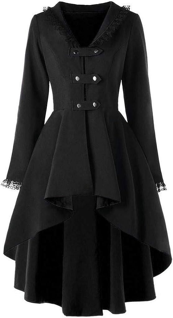 Women Loose Long Cloak Coat Cape Cardigan Jacket Trench Suit Halloween Cosplay Costume Outwear Tops Windbreaker WEI MOLO