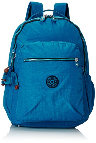 Kipling - SEOUL UP - Mochila grande - Blue Green Mix - (Azul)