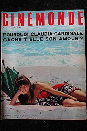 Cinémonde n° 1656 CLAUDIA CARDINALE Adamo Marcel AMONT Catherine SPAAK Marina VLADY