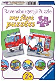Ravensburger Kinderpuzzle 07332 - Einsatzfahrzeuge - my first puzzles - 2,4,6,8 Teile