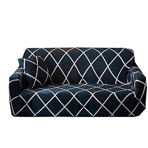 Todo Incluido combinación Universal elástica Funda de sofá Universal Tela de Cuatro Estaciones cojín de sofá Antideslizante Funda de sofá Funda de sofá-re_Tres Personas 195 ~ 230 cm (76-90 Pulgadas)