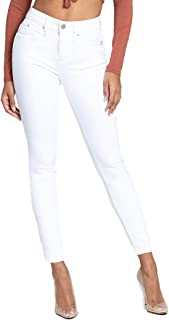 Jeanswear Juniors' Luxe Lift 1-Button Super Hi-Rise Skinny Jeans