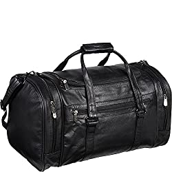 """748bc94188 (4) AmeriLeather Leather 20 in. """"U"""" Shaped Duffel AMAZON For DETAILS click  on image"""