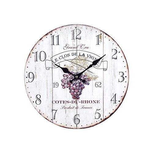 Reloj de Pared Vintage Vino DM 34 cm