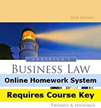CengageNOW (with Business Law Digital Video Library) for Anderson's Business Law and the Legal Environment, Standard Volume, 22nd Edition