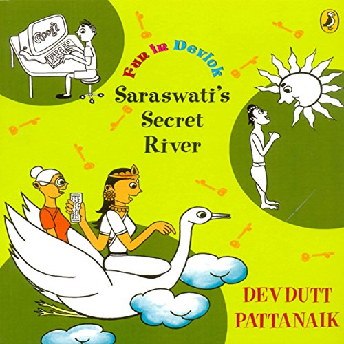 Saraswati's Secret River audiobook cover art