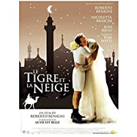 Weitaianla Tigre E La Neve(2005)人生は、奇跡の映画ポスターキャンバス印刷絵画壁アートリビングルームの寝室の装飾-50X70Cmフレームなし