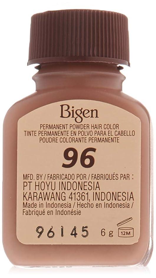 集中的な電話商標Bigen パーマネントヘアカラーパウダー96ディープバーガンディ1 Eaは0.21オズ(4パック)