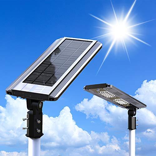 YUYTIN 15W Potpoted Light Ahorro de energía LED Iluminación de la Calle 5 años de garantía, iluminación automática de la Calle Solar