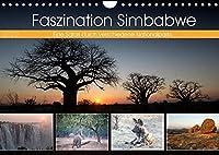 Faszination Simbabwe (Wandkalender 2022 DIN A4 quer): Bilder aus verschiedenen Nationalparks in Simbabwe (Monatskalender, 14 Seiten )
