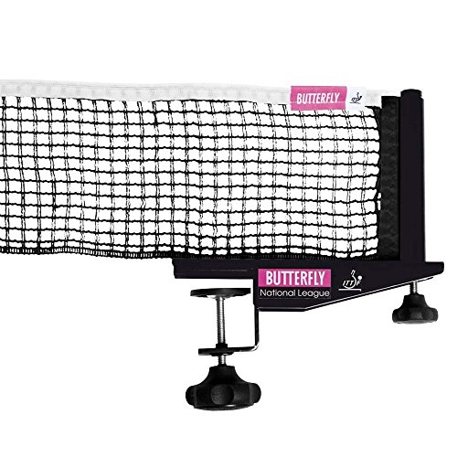 Review Of Butterfly National League Table Tennis Net Set - Fits Tables Up to 1.75 in Thick - 72 in L...