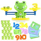 Lemostaar Balance Math Game: Educational Toys Math Games for Kids Boys & Girls - STEM Learning Material Counting Toys - Best Gift for Toddlers 3 4 5 Years Old - 61pcs