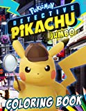 Pokemon Detective Pikachu Coloring Book: Excellent Jumbo Coloring Book with Unique Images Based on 2019 Movie