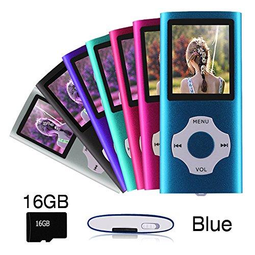 professionnel comparateur Lecteur MP3 MP4 Ueleknight (avec carte micro SD 16 Go), lecteur de musique numérique… choix