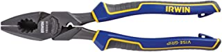 IRWIN VISE-GRIP Locking Pliers, Lineman's with Fish Tape Puller