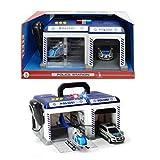 Simba Dickie Toys 203716012Police estacin de polica Incluye helicptero y polivalente