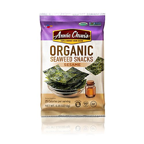 Annie Chuns Snack Seaweed Sesame Organic, 0.35 oz