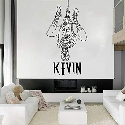 Hollywood movie star superhero wall decal art pegatinas de pared para decoración de dormitorio de niños decoración de habitación para adolescentes papel tapiz