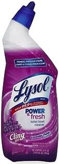 Lysol Power & Fresh Toilet Bowl Cleaner, Lavender Fields, 72oz (3X24oz)