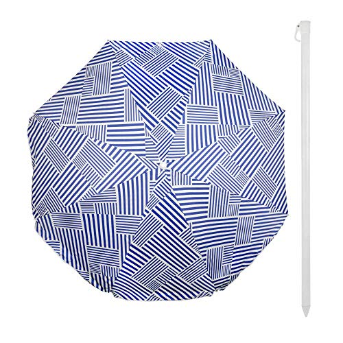 Aktive - Ombrellone da spiaggia, unisex-adulto, 62178, 200 cm