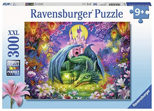 Ravensburger Kinderpuzzle 13258 - Mystischer Drachenwald - 300 Teile