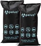 Apalus ® Bolsa Antihumedad Reutilizable para Coches. Absorbe Humedad con Gel De Sílice, Para Ventanas Empañadas. Deshumidificador De Barco, Electrónica (2X 1KG). Incluye 1 Alfombrilla Antideslizante