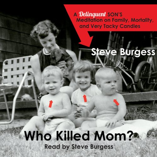 Who Killed Mom? audiobook cover art