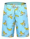 APTRO Men's Swim Trunks Long Banana Bathing Suits Beach Board Shorts #HW022 M