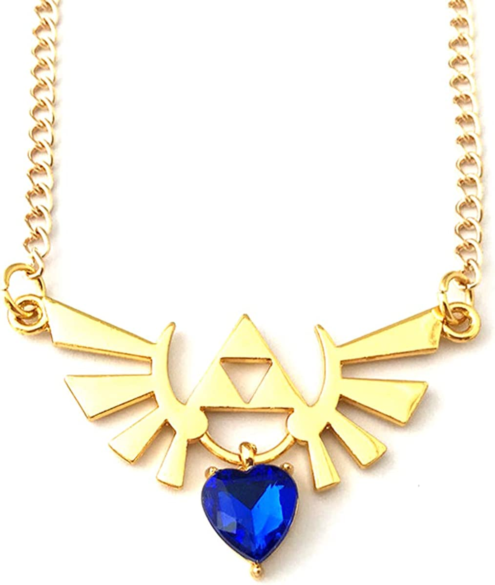 HBSWUI TV Movies Show Original Design Quality Anime Cosplay Jewelry Cartoons The Legend of Zeld Hylian Necklace Gifts for Men Woman
