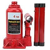 4 Torin Idraulico Saldato Bottiglia Jack Portatile Professionale Auto Car Sollevamento Gamma Riparazione Strumento di Sostituzione Pneumatici