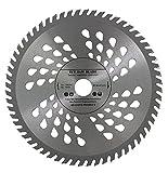 Lame de scie circulaire de qualité supérieure (Skill Scie) 180mm x 20mm pour les disques de coupe de bois circulaire 180mm x 20mm x 60dents