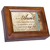 Cottage Garden Wonderful Tante in My Life Holzmaserung Digital Andenken Musik Box Spielt Ich Kann Nur Imagine