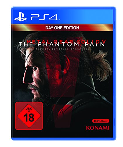 Metal Gear Solid V: The Phantom Pain Day 1 - (FSK 18) (PS4)