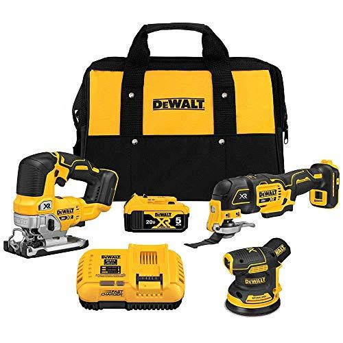 DEWALT DCK300P1 20V MAX XR Brushless 3-Tool Woodworking Kit