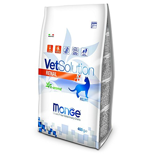 Monge Veterinary Solution Gatto Renal GR. 400 Cibo per Gatti, Multicolore, Unica