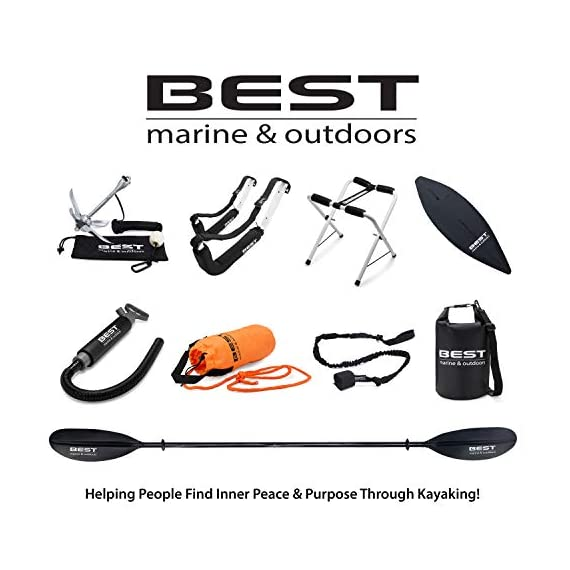 Best Marine Kayak Storage Racks. Premium Wall Mount Accessories for Kayaks and SUP Paddle Boards. Two Indoor/Outdoor… 7 HOW ARE WE DIFFERENT? - Our storage racks are made from heavy duty powder coated steel with nylon covered foam padding. They're lightweight, strong, require no assembly, are easy to install and they're affordable! WHY BEST MARINE AND OUTDOORS? - Our company goal and mission is to help people find inner peace and purpose through kayaking. When you're paddling trip is over, know that your prized possession is safe and secure waiting for your next trip on the water WHO ARE OUR STORAGE RACKS FOR? - Our wall hangers are for people looking for a simple, strong solution to protecting and storing their kayaks. Our racks can easily be installed in your garage, shed, under your deck or on your dock or pier
