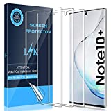 LK [3 Pack Screen Protector for Samsung Galaxy Note 10