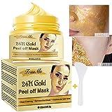 24k Gold Face Mask, Blackhead Remover Mask, Peel Off Blackhead Mask,...