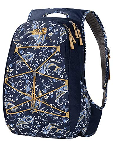 Jack Wolfskin Damen Savona Frauentagesrucksack, Midnight Blue All Over, ONE Size