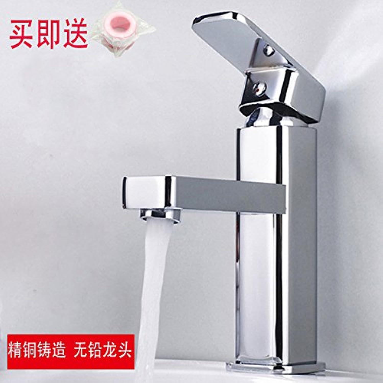 Kupfer hei und kalt Wasserhhne Küchenarmatur WasserhahnKupfer überzug Waschbecken Badezimmerschrank Waschbecken Bad heien und kalten Waschtischmischer Geeignet für alle Badezimmer Küchenspülen