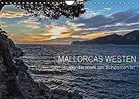 Mallorcas Westen (Wandkalender 2022 DIN A4 quer): Mallorcas Westen ist ein Paradies fuer Individualtouristen. (Monatskalender, 14 Seiten )