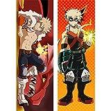 Anime My Hero Academia Dakimakura Funda de Almohada para Cama Corporal Katsuki Bakugou Accesorios de...