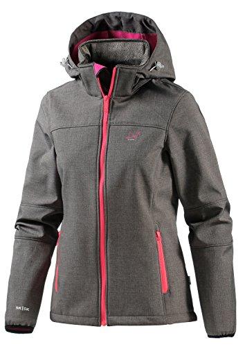 2117 of Sweden Damen Softshell Jacke (Grau)