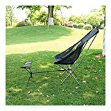 Without logo DSJTCH Tabouret Portable Pliable Repose-Pieds for Camping Plage Chaise...